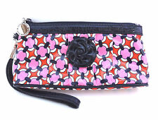 Vera Bradley Wristlet LOVES ME Clutch Frill Hangin Out Purse Cosmetic Bag