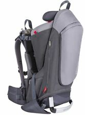 Phil & Teds Escape Child Backpack Carrier Charcoal / Grey NEW