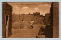 Taos NM, The Land of Enchantment - Vintage New Mexico Albertype Postcard