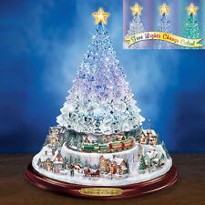 Reflections of Christmas Tree - Thomas Kinkade Figurine Bradford Exchange