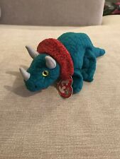 TY BEANIE BABY HORNSLY - THE TRICERATOPS DINOSAUR