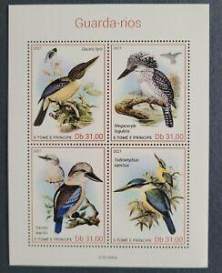 S. Tome & Principe 2021 / Birds - Kingfishers / 4v ms
