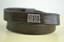 DIESEL Bracciale akaddouri Bracciale Bracelet Look Usato Marrone Pelle Leather