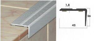 Stair Nosing Step/Tread Edge Stainless Steel, Aluminium & Checker Plate