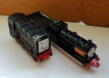 Vintage 1999 2001 ERTL Thomas & Friends Diesel & Donald Diecast Trains Lot