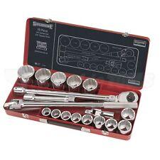 "Sidchrome 19 Pieces 3/4"" Drive Socket Set AF Universal Joint SCMT15405 RRP $995"