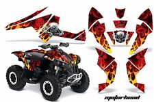 AMR Racing CanAm Renegade500/800/1000 Graphic Kit Wrap Quad Decal ATV All MOTO R