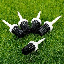 50× Golf Brush Tees 57mm Sports Practice Driver Professional Plastic Bristle Tee