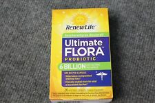 Renew Life Ultimate Flora Probiotic 6 Billion 20 Vegetarian Capsules