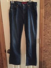 Levis 505 Jeans Low rise straight leg  Size 10 with 32 inseam