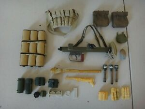 LOTS OF 1/16 MILITARY ACTION FIGURE WEAPONS / ACCESSORIES