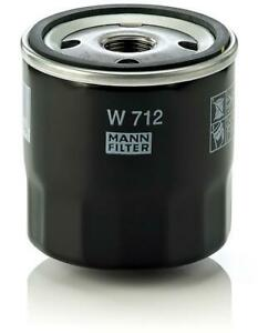 Mann-filter Oil Filter W712 fits VAUXHALL VICTOR  1600