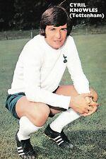 Football photo > Cyril Knowles Tottenham Hotspur 1970-71