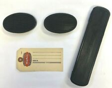 1930 1931 1932 1934 Chrysler and DeSoto Clutch ,Brake and Gas Pedal Pad Set