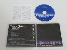 TWILIGHT ZONE THE MOVIE/SOUNDTRACK/JERRY GOLDSMITH(WB. WPCR-10768)JAPAN CD ALBUM