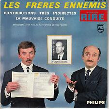 45TRS VINYL 7'' / FRENCH EP FRERES ENNEMIS / SERIE RIRE / GISCARD