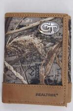 ZEP-PRO Georgia Tech Yellow Jackets Realtree Camo Trifold Wallet TIN GIFT BOX