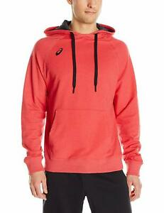 ASICS Men's All Sport Pullover Hoodie, Red