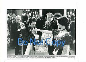 Anthony Hopkins Antonio Banderas Catherine Zeta-Jones The Mask Of Zorro Photo