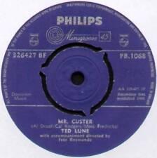 "[BARRY MANN] TED LUNE~MR CUSTER / TIME MACHINE~1960 UK 7"" SINGLE~PHILIPS PB.1068"