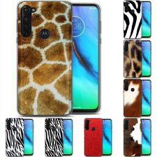 TPU Phone Case for Motorola G Stylus,G7 Play,Power,Plus,Skin Cute Pattern Print
