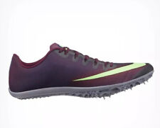 Nike Zoom 400 Track Spikes Aa1205-500 Men's Us 7 Woman Us 8.5 Burgundy New $110