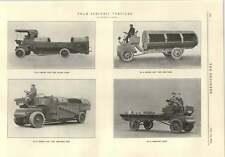 1914 FRAM VEICOLI ELETTRICI rifiutare Carrello Tre Ton Camion