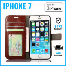 Leather Wallet Flip Case Cover Cas Coque Etui Hoesje Cards Money For iPhone 7