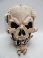 Alien Skull Head Horns Adult Halloween Mask 1991 American Mask & Novelty Co.