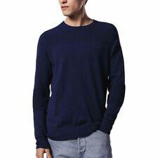 Diesel K Gee Mens Pullover Long Sleeves Sweater Blue L