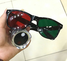 Ophthalmic Worth 4 Dot Test Red Green Glasses Aluminium Case xb738