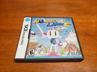 Bomberman Land: Touch (Nintendo DS, 2006) CIB Complete TESTED Authentic