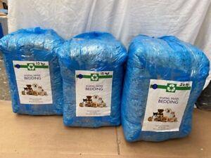 10,15, 20Kg Large bale shredded paper pet bedding -FREE P&P - Single & Bulk Buy