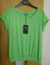 M & S Apple Green Stretchy T-Shirt With Soft Viscose BNWT Size 10
