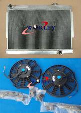3 ROW for HOLDEN TORANA LJ LC LH LX V8 WITH CHEV ENGINE ALUMINUM RADIATOR & FAN