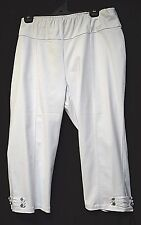 TS pants TAKING SHAPE VIRTU plus sz L / 22 Amalfi Crop Pant stretch cotton NWT
