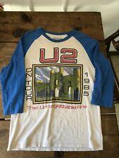 U2 1985 Unforgettable Fire tour shirt
