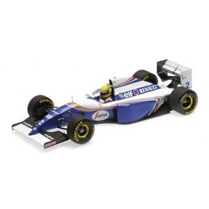 MINICHAMPS 540 941821 Williams FW16 Rothmans F1 car Ayrton Senna Brazil 1:18th
