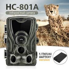 5000mAh Li-Battery 16MP Wildlife Camera Hunting Cam Trail Motion NightVision UK