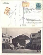Hungary Carpatho-Ukraine Huszt Chust Khust 1941 Mail RPPC ČSR Romania Interest B