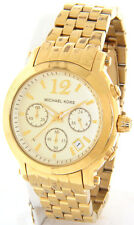 MICHAEL KORS MK5172 LADIES CAMILLE RUNWAY CHRONOGRAPH GOLD STAINLESS STEEL WATCH