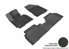 All Weather Floor Mats For KIA SPORTAGE 2011-2013 KAGU BLACK R1 R2 Maxpider