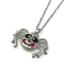 Spooky Halloween SPIDER NECKLACE Pendant - UK Stock