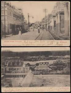 CURACAO Karibik 1902 PK Overzijde Willemstad+ Fort Nassau -> Maracaibo Venezuela