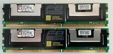 KTH-XW667/2G Kingston 2GB Kit (2 X 1GB) PC2-5300 DDR2-667MHz ECC Fully Buffered