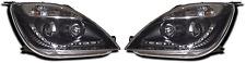 Ford Fiesta Mk6 Black DRL LED Projector Headlights Lighting Lamp Part 02-08