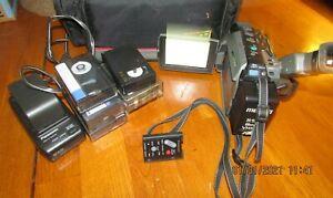 Panasonic  VHSC Palmcorder 150x Digital 18x High Definition Zoom Lens w/Remote