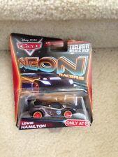 Disney Pixar Cars Neon Racers LEWIS HAMILTON Target 2013 1:55 scale