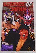 Hayabusa The Great Muta Jushin Liger 11x17 Wrestling Poster Japan WWE NJPW WCW