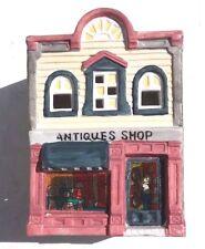 Vintage No Name Christmas Village Light-Up House Antique Shop
